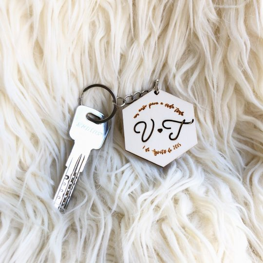 porta-chaves iniciais
